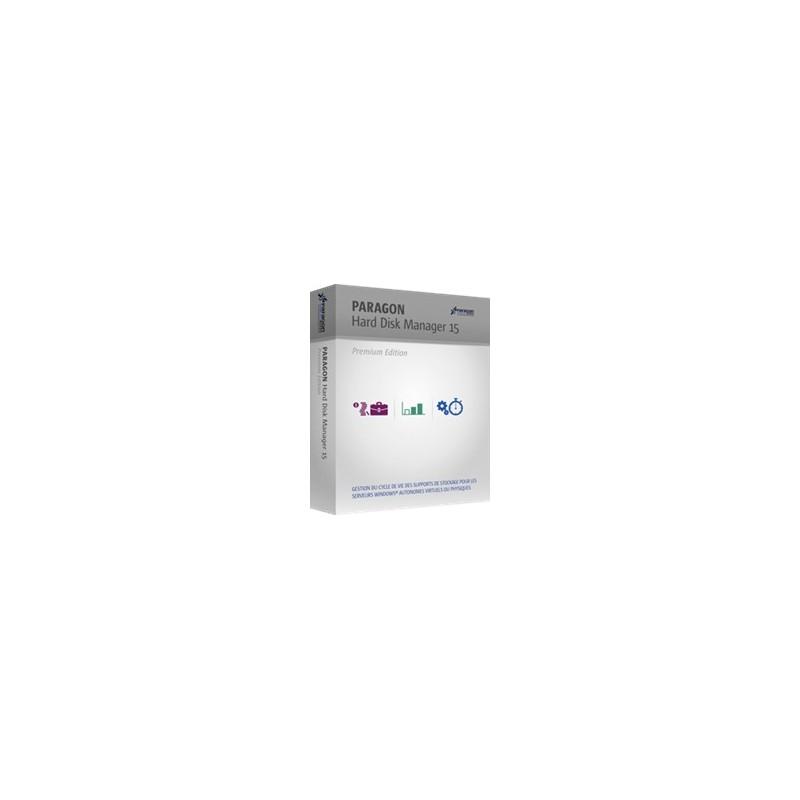 Mise à jour Hard Disk Manager 14 Premium  vers 15