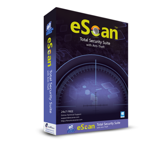 antivirus escan total security suite